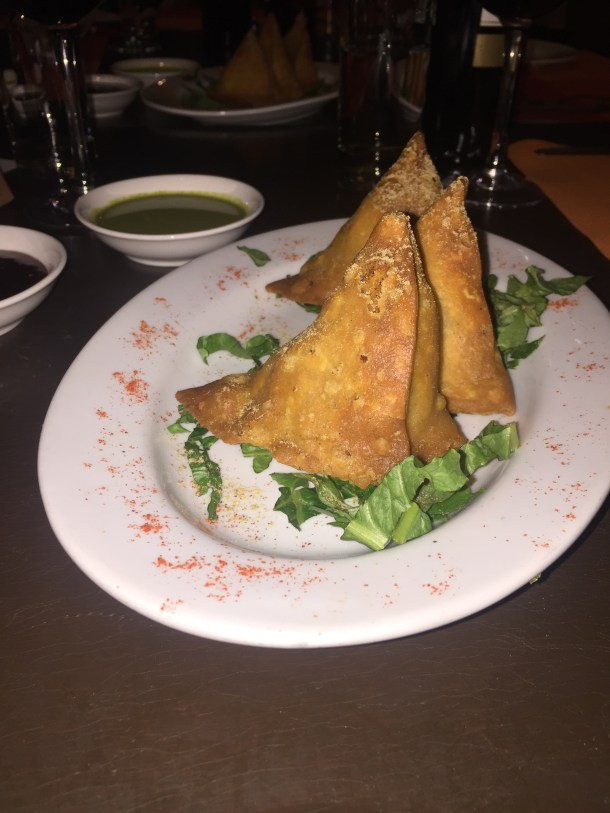 Imli Indian Kitchen Samosas