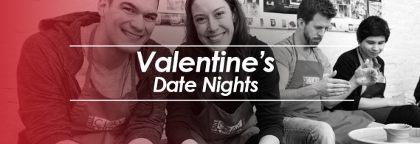 Clay Studio Valentine's Day Date Night