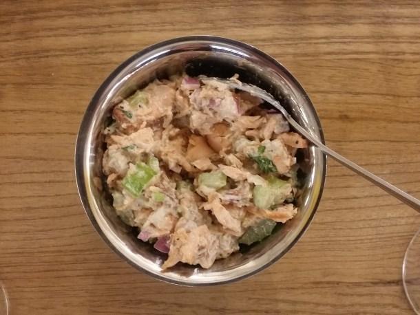 Snap Kitchen Smoked Salmon Snack
