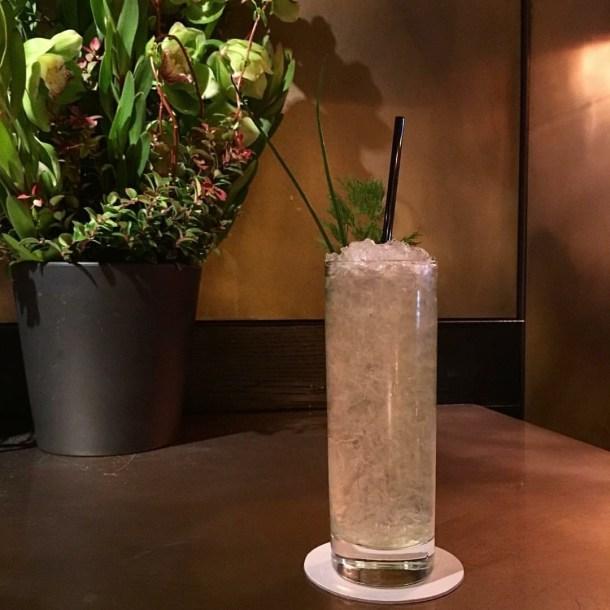 Alsatian Swizzle Cocktail at a.bar
