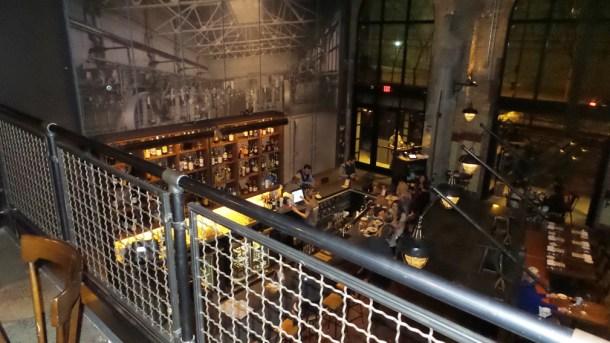 La Peg at Fringe Arts Upstairs View