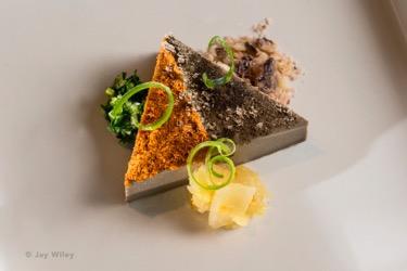 Marigold Kitchen Mushroom Panna Cotta