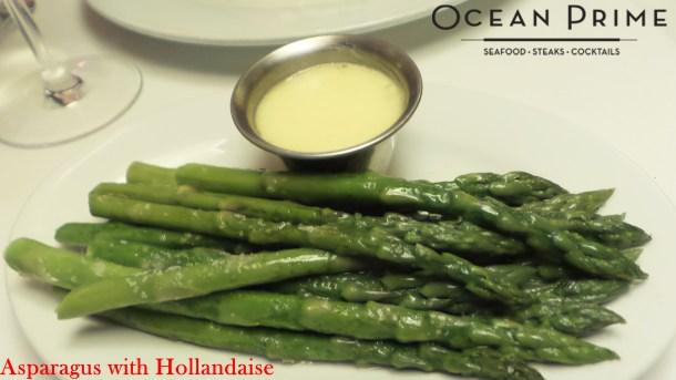 Ocean Prime - Asparagus with Hollandaise
