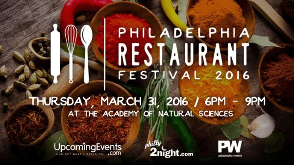Philadelphia Restaurant Festival 2016