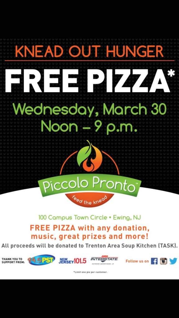 Piccolo Pronto Grand Opening Free Pizza