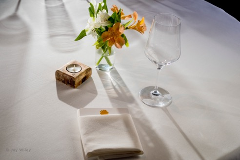 Place Setting at Marigold Kitchen
