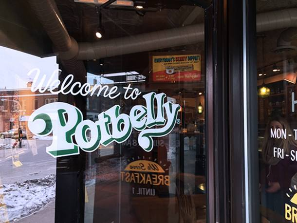Welcome to Potbelly Sandwich Shop