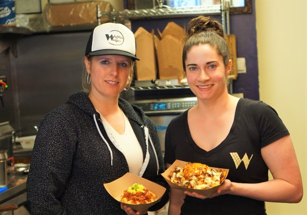 Andrea and Laura of Waffles & Wedges