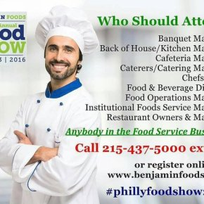 Philly Food & Restaurant Supply Show by Benjamin Foods