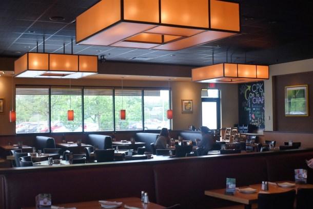 California Pizza Kitchen Cherry Hill Mall Interior