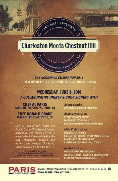 charleston dinner at paris bistro