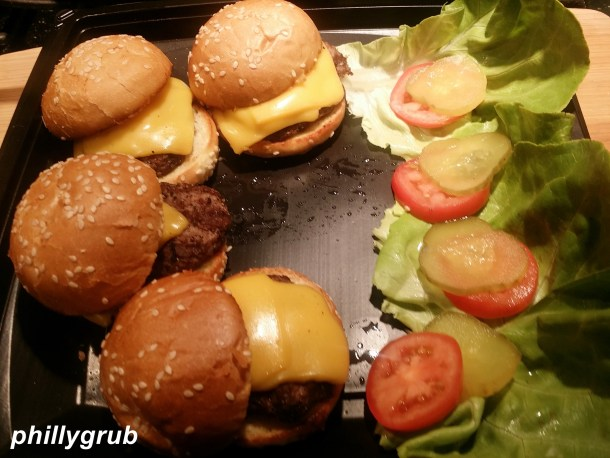 Cheeseburger Sliders from Grand Lux Cafe