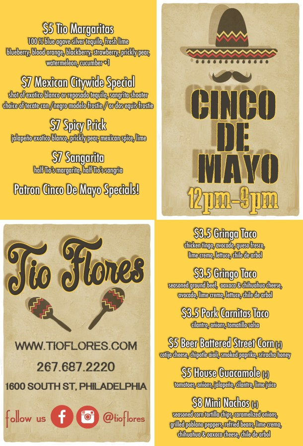 Cinco de Mayo at Tio Flores
