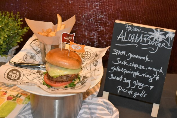 Hard Rock Cafe Aloha Burger