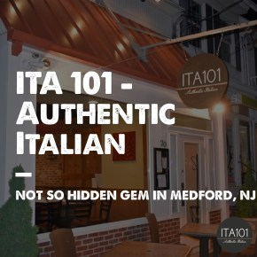 ITA 101: Authentic Italian in Medford, New Jersey
