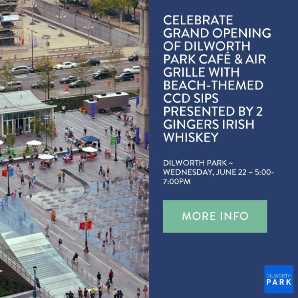 Dilwork Park Cafe Grand Opening Announcement