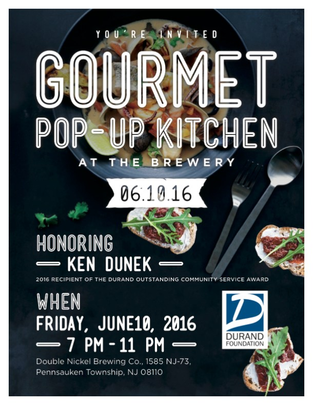 Durand Foundation Gourmet at the Brewery