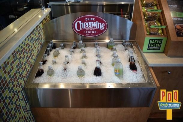 PDQ Cherry Hill Lemonade and Cheerwine