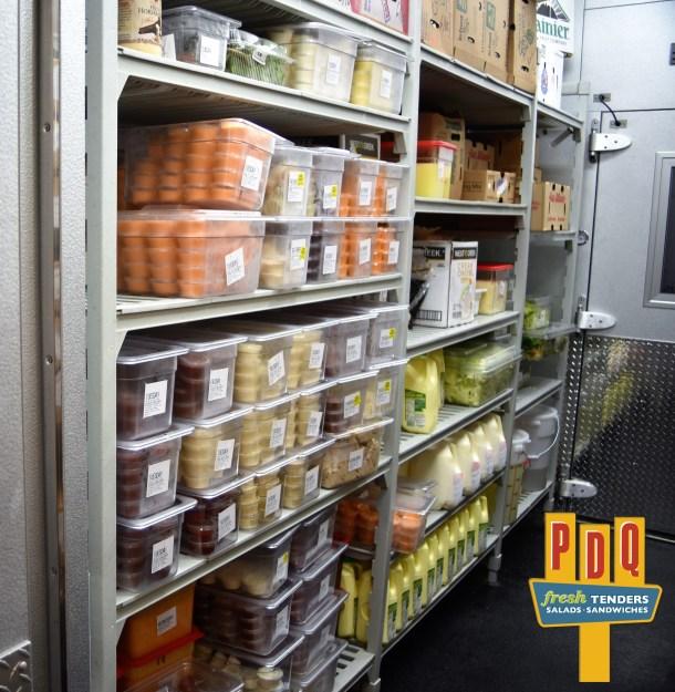 Sauce Wall at PDQ