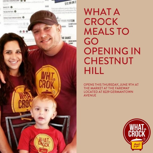 What A Crock Meals To Go Chestnut Hill Brieanna and Justin West