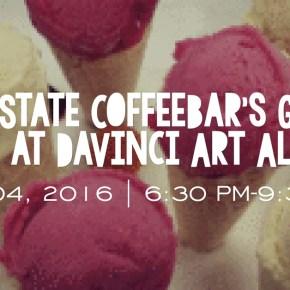 Flow State CoffeeBar's Gelato Social at DaVinci Art Alliance on August 4