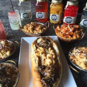 "J.J. Bootleggers Mac & Cheese Mondays Features ""Mac & Cheesesteak"""