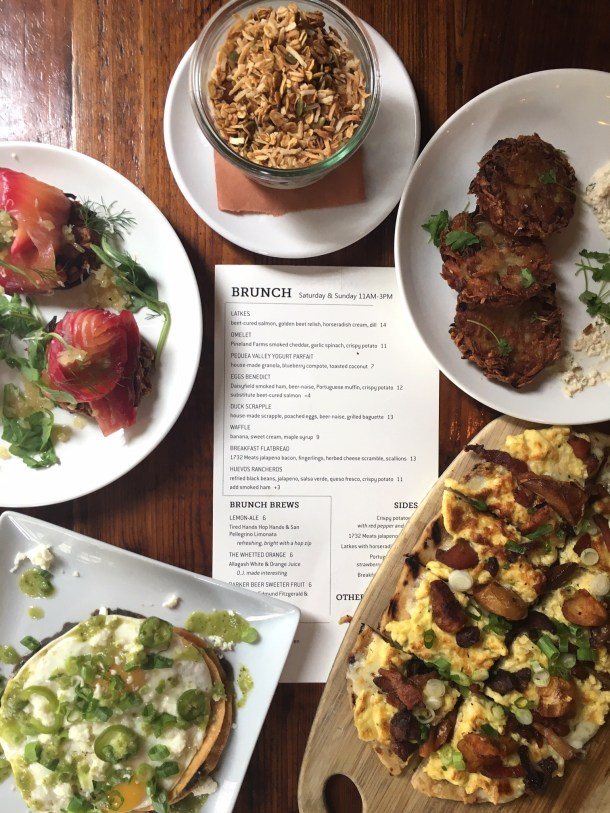 Tria Taproom Now Serving Brunch