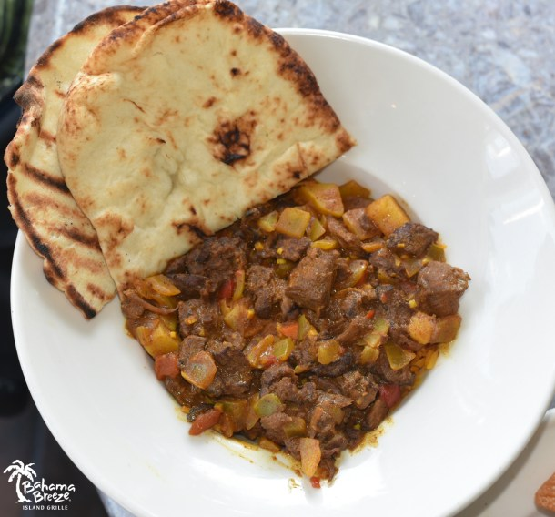 Bahama Breeze Curry Goat