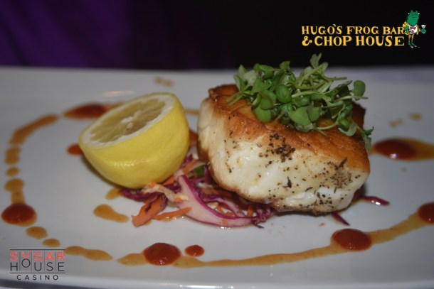 Chilean Sea Bass at Hugo's Frog Bar & Chop House Philadelphia