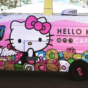 Hello Kitty Cafe Truck Plans Visit to King of Prussia
