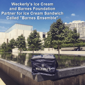 Weckerly's Ice Cream and The Barnes Foundation Announce Special Summer Ice Cream Sandwich