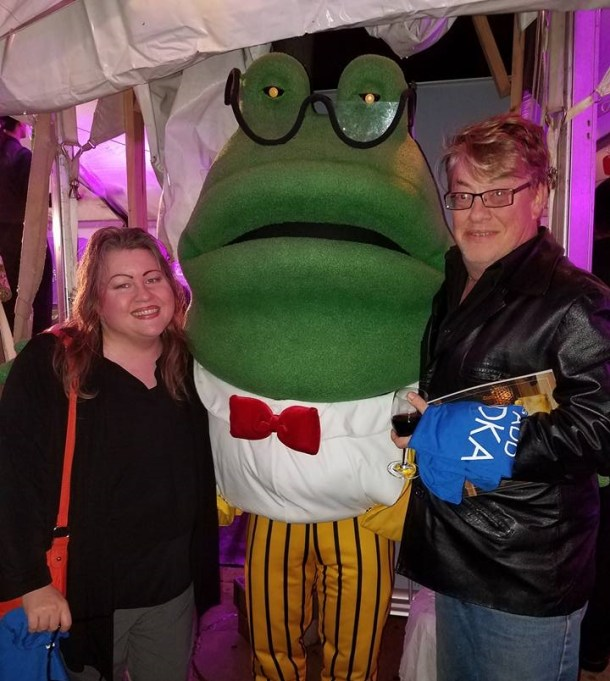Hugo Frog with Philly Grub at FEASTIVAL