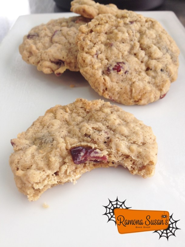 Ramona Susan's Oatmeal Craisin Cookies