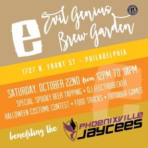 Final Weekend for the Evil Genius Brew Garden Pop-Up