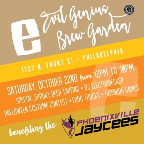 Final Weekend for the Evil Genius Brew Garden Pop-Up