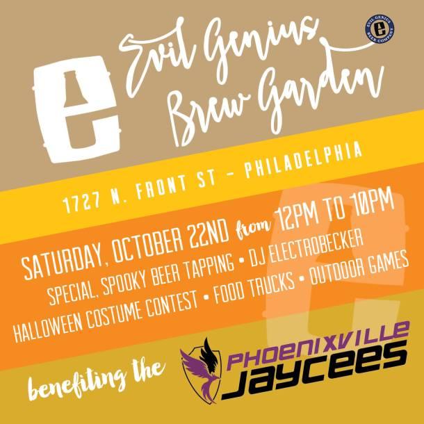 Evil Genius Brew Garden Final Weekend