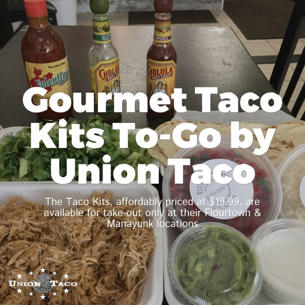 Union Taco Taco Kits To Go