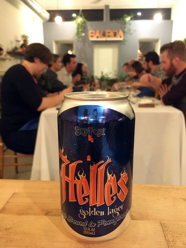 Home Brewed Events Beer Class & Dinner at Balboa Supper Club