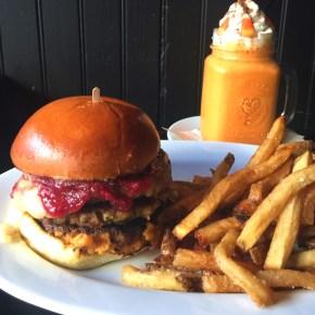 GRUB ON THIS: The Gobbler Burger at Craftsman Row Saloon
