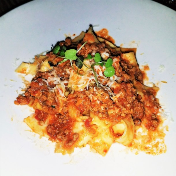 Pappardelle Cinghiale at Panorama Philadelphia