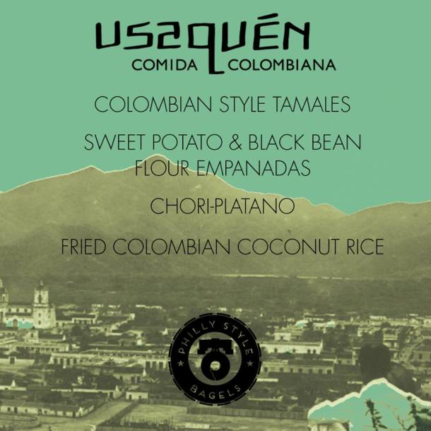 Usaquen Colombian at Philly Style Bagels