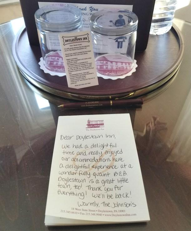 Dear Doylestown Inn