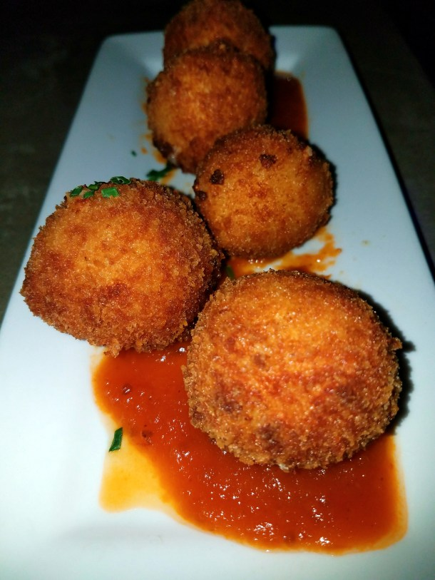 Fried Mac N Cheese Balls at The Hattery Doylestown, PA