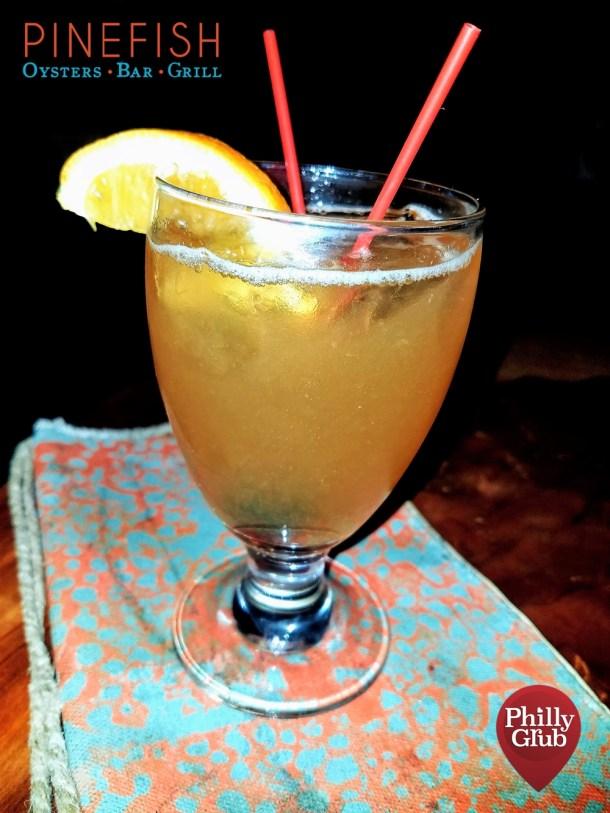 Best Damn Sour Cocktail at Pinefish