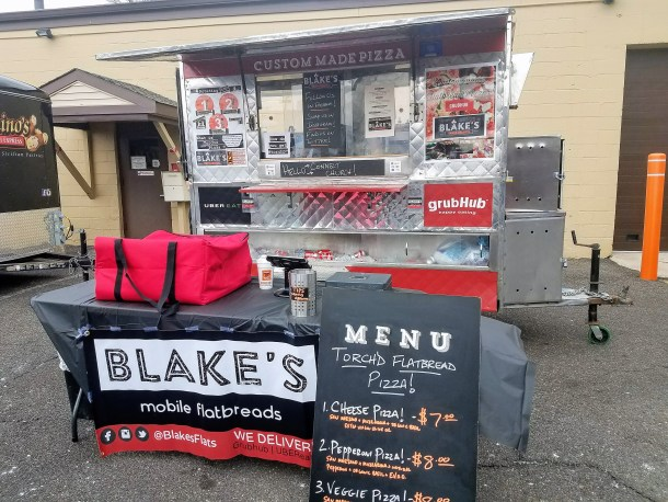 Blake's Torch'd Flatbread Pizza
