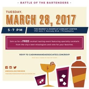 Mixology Mixer: Battle of the Bartenders