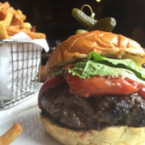 EAT THIS: Half-Priced Burgers with Duck Fat Fries on Mondays at Pinefish