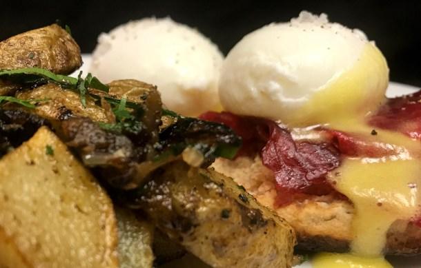 Eggs Benedict at Vintage Brunch