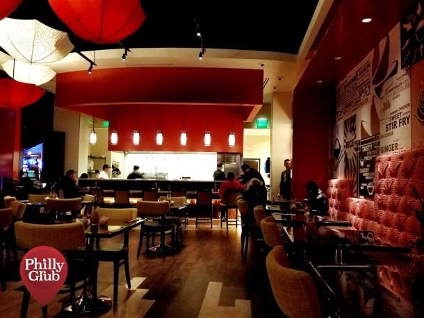 Inside Mian Restaurant Sugar House Casino