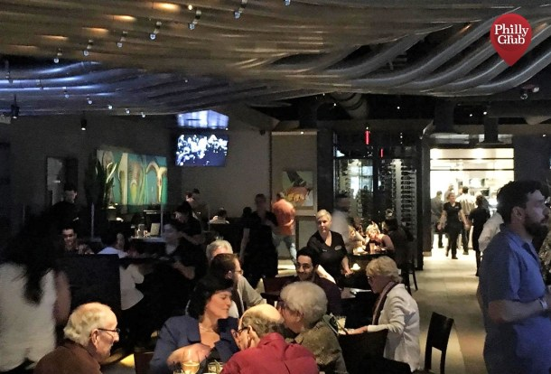 Inside Yard House at King of Prussia Mall